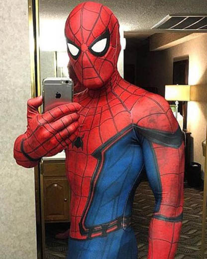 spiderman zentai cosplay