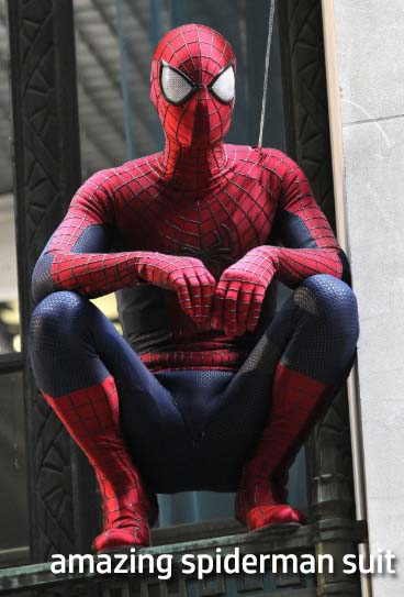 amazing spiderman suit