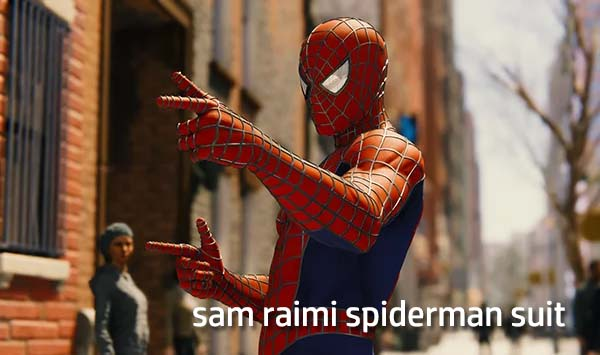 sam raimi spiderman suit