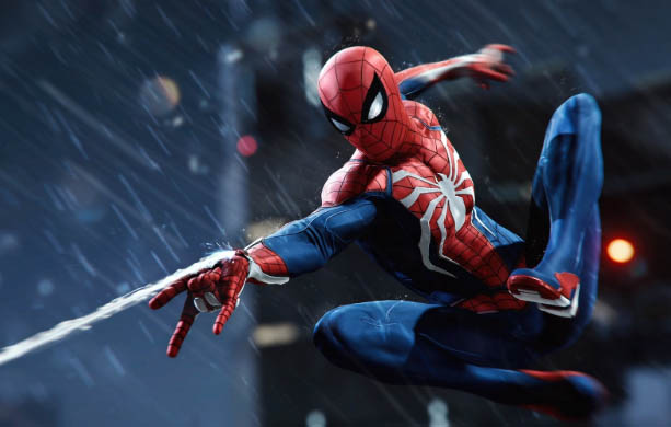 spider-man ps4 game advanced suits