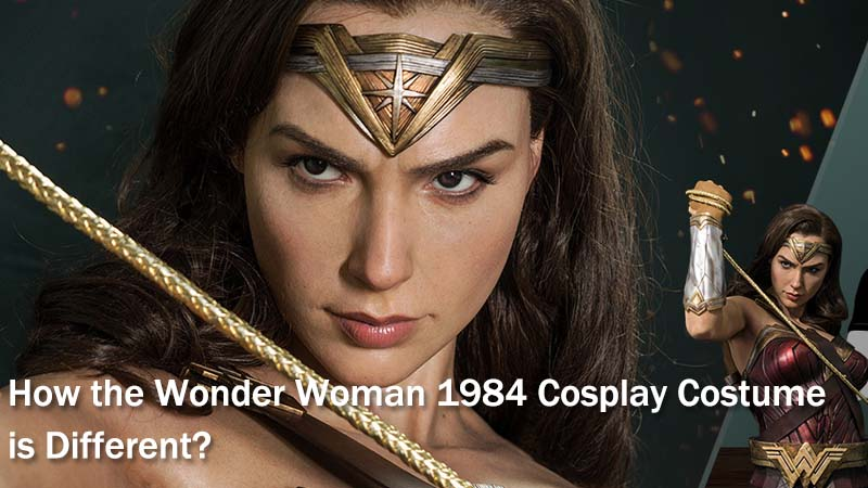 How the Wonder Woman 1984 Cosplay Costume is Different