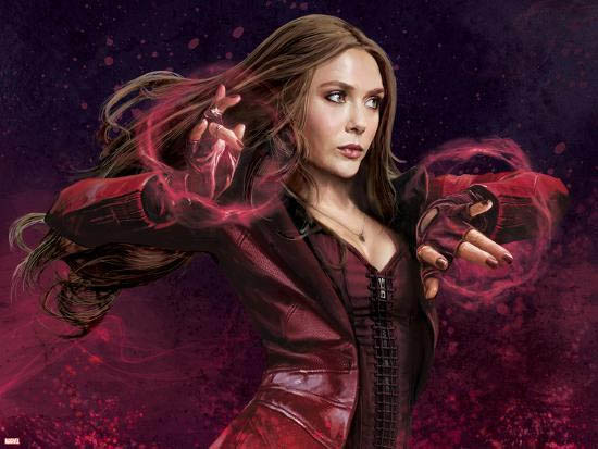Scarlet Witch Endgame Classic Suit