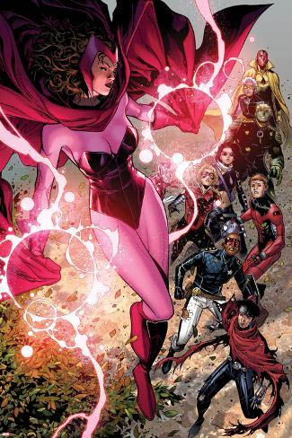Scarlet Witch in comics