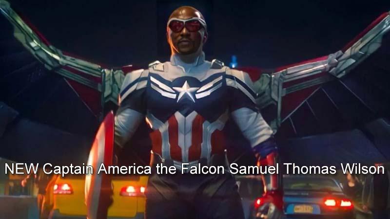 NEW Captain America the Falcon Samuel Thomas Wilson
