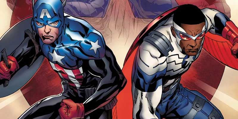 captain and falcon in the comics
